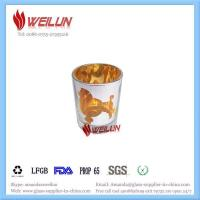 Buy cheap Glass printing laser cut candle holder from wholesalers