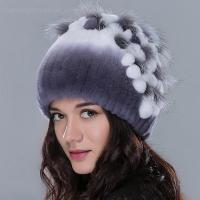 Buy cheap real winter rex rabbit fur hats from wholesalers