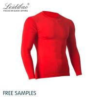 Buy cheap Dry Fit Bodybuilding Wear Compression Tights Fitness Clothing With Grey Mesh product