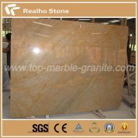 Buy cheap Nature Imperial Gold Marble Slab Own Quarry Exclusive Supplier product