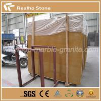 Buy cheap Nature Turkey Empire Gold Polished Marble Slab for Hotel Project product