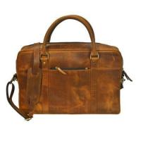 Buy cheap Genuine Black Leather Duffel Bag from wholesalers