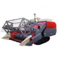 Buy cheap ANON Crawler Self-propelled Full-feed Rice-and-wheat Combine Harvester from wholesalers