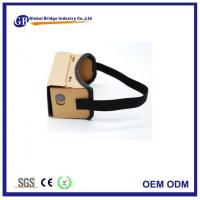 Buy cheap Best Diy Paper Cardboard 3d Virtual Reality Video Games Headset from wholesalers