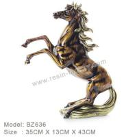 Buy cheap D:Bronze item Resin Home Decoration BZ636 from wholesalers