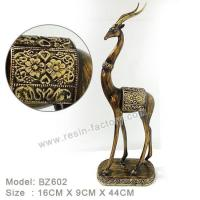 Buy cheap D:Bronze item Resin Home Decoration BZ602 from wholesalers