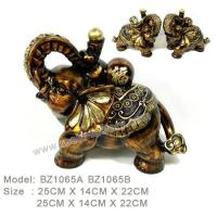 Buy cheap D:Bronze item Resin Home Decoration BZ1065A BZ1065B from wholesalers