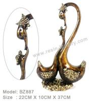 Buy cheap D:Bronze item Resin Home Decoration BZ887 from wholesalers