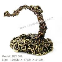 Buy cheap D:Bronze item Resin Home Decoration BZ1068 from wholesalers