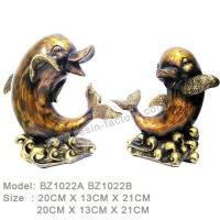 Buy cheap D:Bronze item Resin Home Decoration BZ1022A BZ1022B from wholesalers