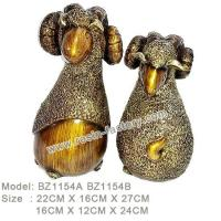 Buy cheap D:Bronze item Resin Home Decoration BZ1154A BZ1154B from wholesalers