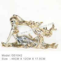 Buy cheap C:Gold silver and seashell item Resin Home Decoration GS1042 from wholesalers