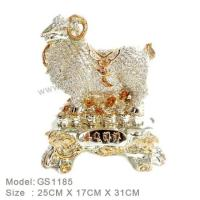Buy cheap C:Gold silver and seashell item Resin Home Decoration GS1185 from wholesalers