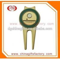 Buy cheap Custom Golf Accessory Golf Divot Tool with Iron Ball Marker from wholesalers