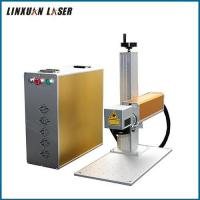Vin Code Punch Lamp Bulb 30W Portable Etching Fiber Laser Marking Machine Mini Hardware 2D