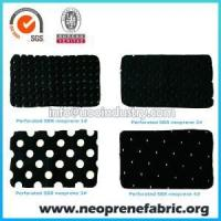 Buy cheap Neoprene Fabric Perforated Neoprene Fabric Material from wholesalers