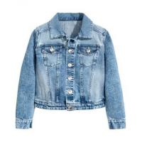 Buy cheap girl-Jacket wholesale and OEM Denim jacket for kids girls from wholesalers