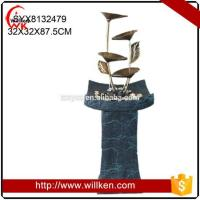 Buy cheap Animal Statues Tabletop deco resin water fountains for decorative from wholesalers