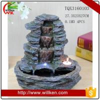 Buy cheap Animal Statues Large outdoor garden fountains for sale from wholesalers
