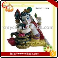 Buy cheap Animal Statues Polyresin Hindu God, Indian God Statues- Ganesh from wholesalers