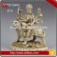 Buy cheap Animal Statues Polyresin hinduism durga sculpture hindu god statue from wholesalers