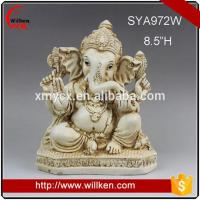Buy cheap Animal Statues Wholesale Resin Lord Ganesh Indian God Statue from wholesalers