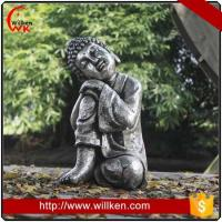 Buy cheap Animal Statues Hand carved decorative polyresin sleeping buddha statue from wholesalers