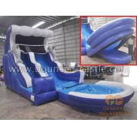 Water slide Water slide with cushion