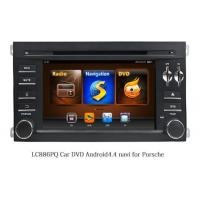 Buy cheap LC886PQ Car DVD Radio with Android 6.0 For Porsche from wholesalers