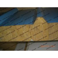 Buy cheap Mineral wool/Rock wool roof sandwich panel from wholesalers