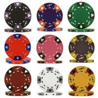 Buy cheap 14g Tri Color Ace King Suited Clay Poker Chips from wholesalers