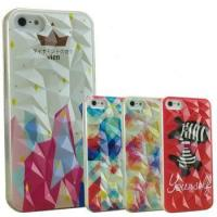 Buy cheap 3D Embossed Painting Phone Case For iPhone 5,5S QY-IP5-3DPC-001 from wholesalers