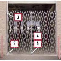 Buy cheap Heavy Duty Steel Folding Gates Pairs from wholesalers
