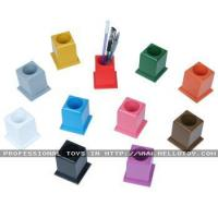 Puzzle Set of 11 Colored Pencil Holders