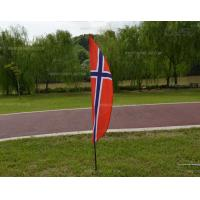 Buy cheap Flag & Banner Custom Norway Feather Flag from wholesalers