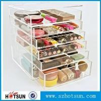 Buy cheap China suppliers cosmetic 5 drawer acrylic makeup organizer Storage with Drawers from wholesalers