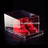 Buy cheap clear shoes box for Air Jordan Adidas Nike New Balance Converse display from wholesalers