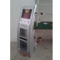 Buy cheap floor standing 17inch LCD MultiMedia advertising Player with brochure holder from wholesalers