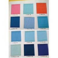Buy cheap Esd Fabric esd stripe fabric for electronic worker garment from wholesalers