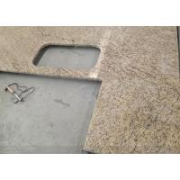 Buy cheap Countertop&Vanity top Giallo Ornamental granite kitchen countertop from wholesalers