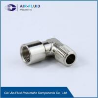 Buy cheap Air-Fluid Equal Elbow Metric/BSPT Male x Metric/BSPP Female Thread Fittings from wholesalers