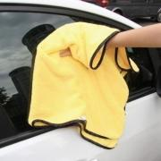 Buy cheap Dual Color Durable Super Thick Microfiber Cleaning Cloth for Auto Washing Towel from wholesalers