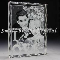 Buy cheap 3D Laser Wholesale K9 Customized Images Crystal 3d Laser Photo Printing from wholesalers