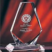 3D Laser wholesale customzied product crystal award medal trophies for business