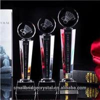 Buy cheap 3D Laser wholesale k9 crystal award and trophy for sport gift from wholesalers
