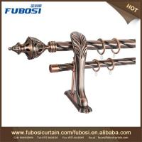 Buy cheap New designs decorative curtain poles tracks luxury curtain rods from wholesalers