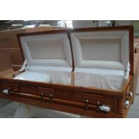 Buy cheap American casket-interior decoration / Paulownia Coffin from wholesalers
