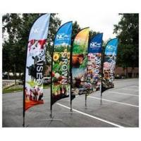 Buy cheap Custom flags Custom swooper flags from wholesalers