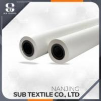 Buy cheap 70gsm sublimation inkjet heat transfer printing papers roll for cotton t-shirt from wholesalers