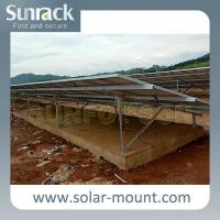 Buy cheap Pv Solar Panel Ground Mounting Structures from wholesalers